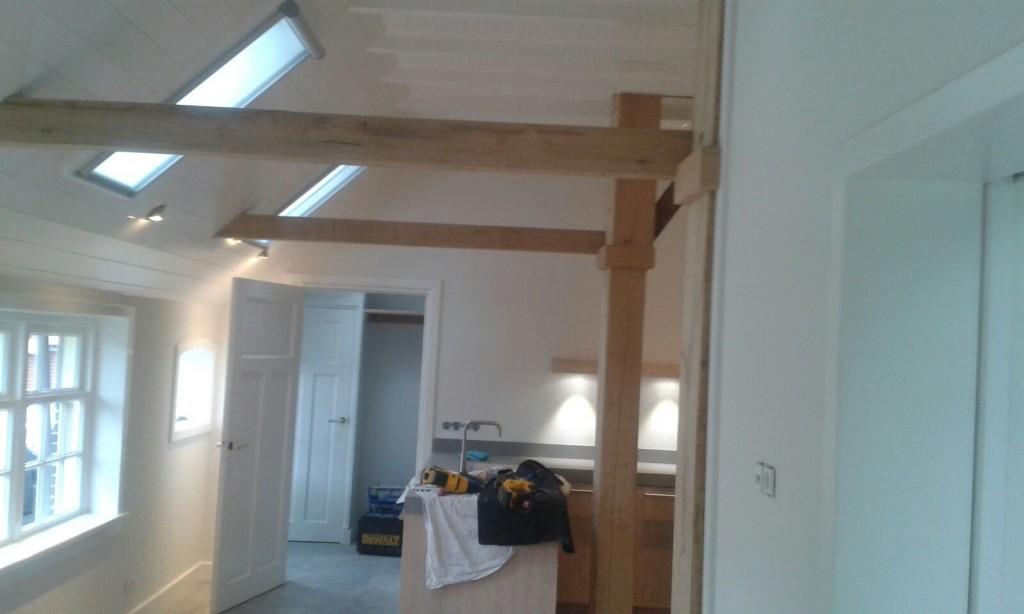 Verbouwing kamer